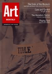 Art Monthly 189