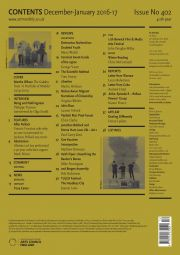 Art Monthly back cover