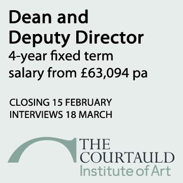 Courtauld Director-Dean