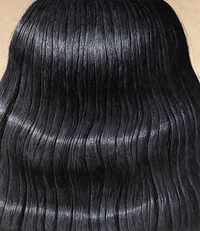 Domenico Gnoli <em>Black Hair</em> 1969