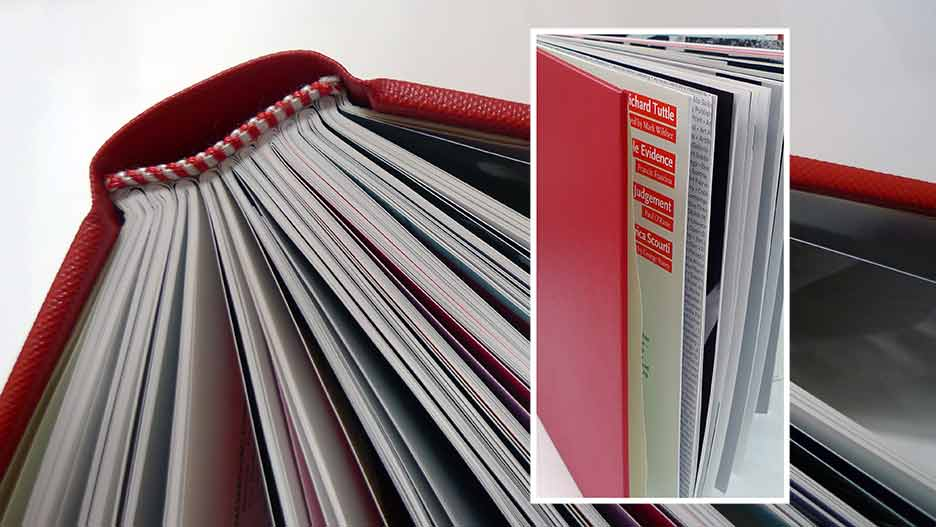 Hardback bound copies of Art Monthly