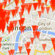 View the London Gallery Map