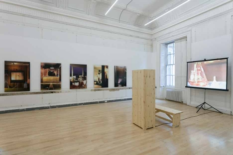 Julie Becker 'I must create a Master Piece to pay the Rent' installation view at the Institute of Contemporary Arts, London