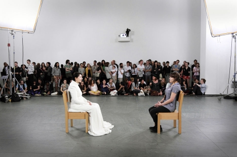 Marina Abramovic <em>The Artist is Present</em> 2010 MoMA New York