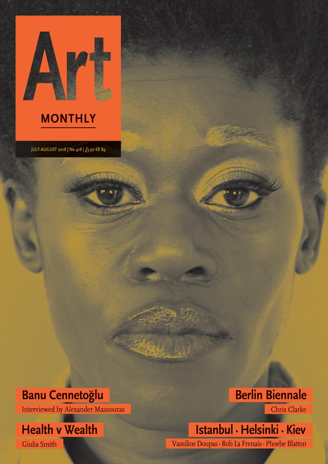 Art Monthly cover